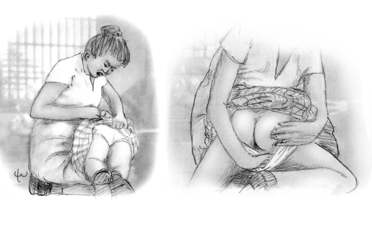 Handprints Drawings Gallery #112 - Spanking Art of Lee ...