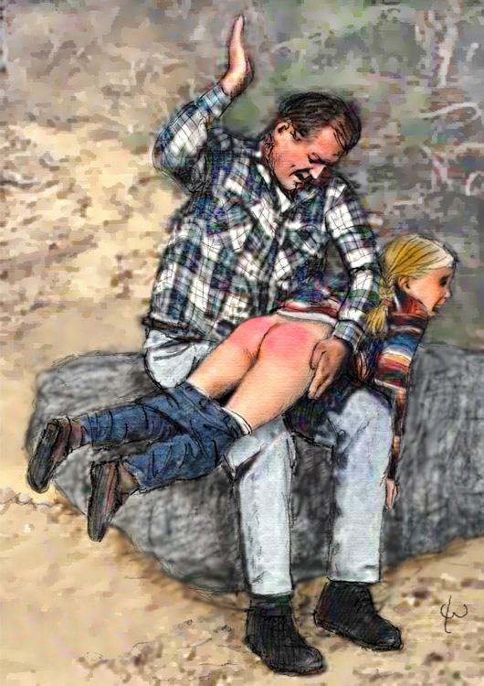 Naughty boy spank spank spank spank #11