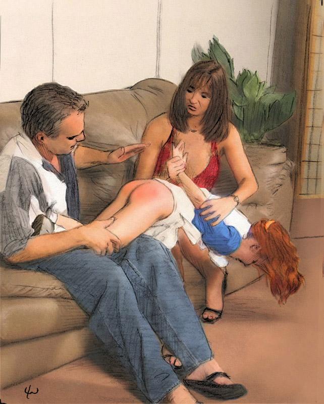 Looking doll lee warner boy spanking