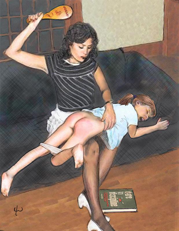 Barebottom spanking stories