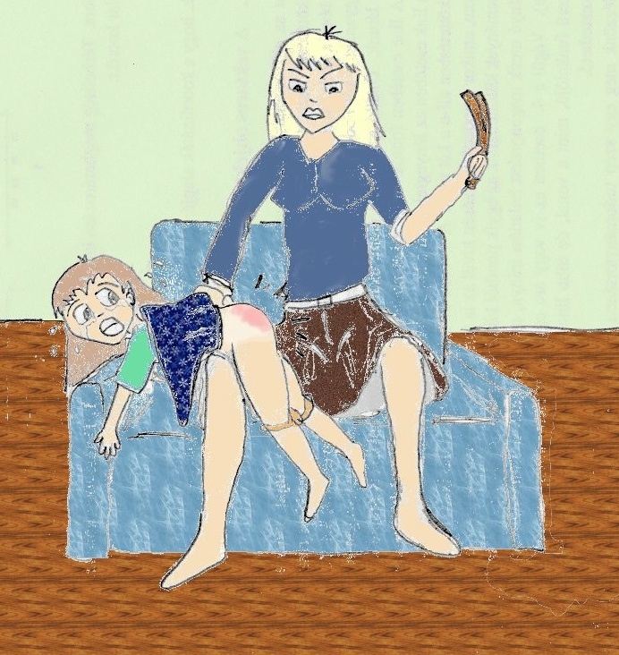 Handprints Spanking Art and Stories Page Drawings Gallery ...