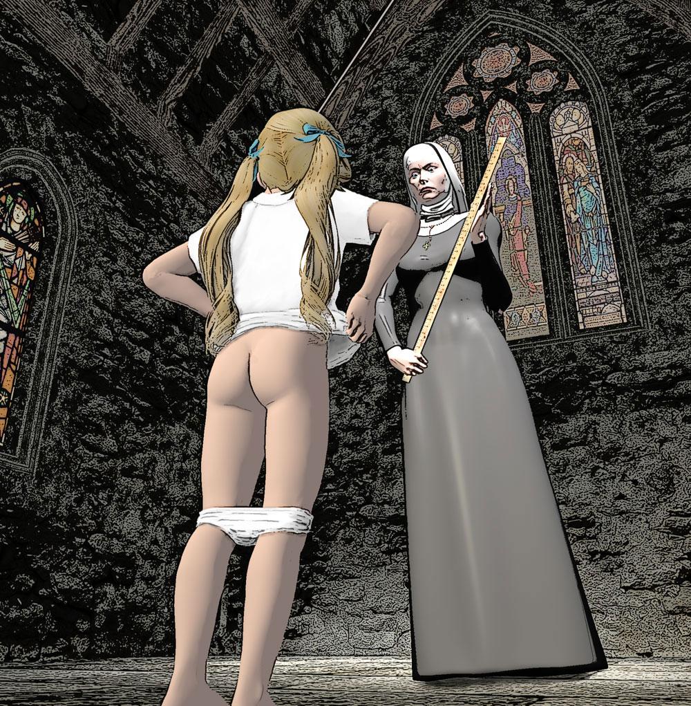 Tranny nuns and sub boy