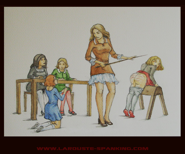 Порка девочек картинка