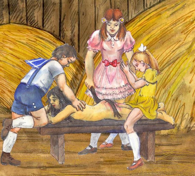 salalo spanking art drawings.