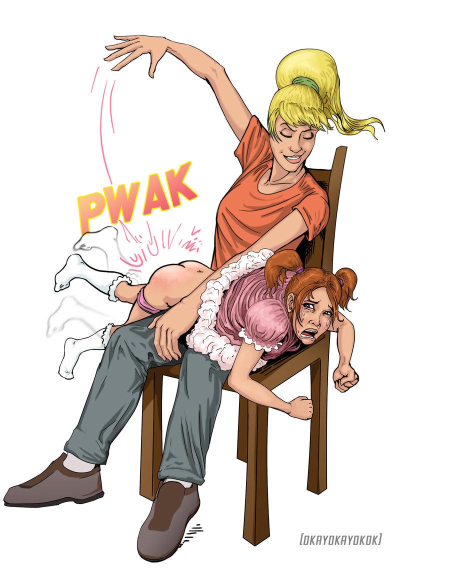 Deviant spanking comics happened